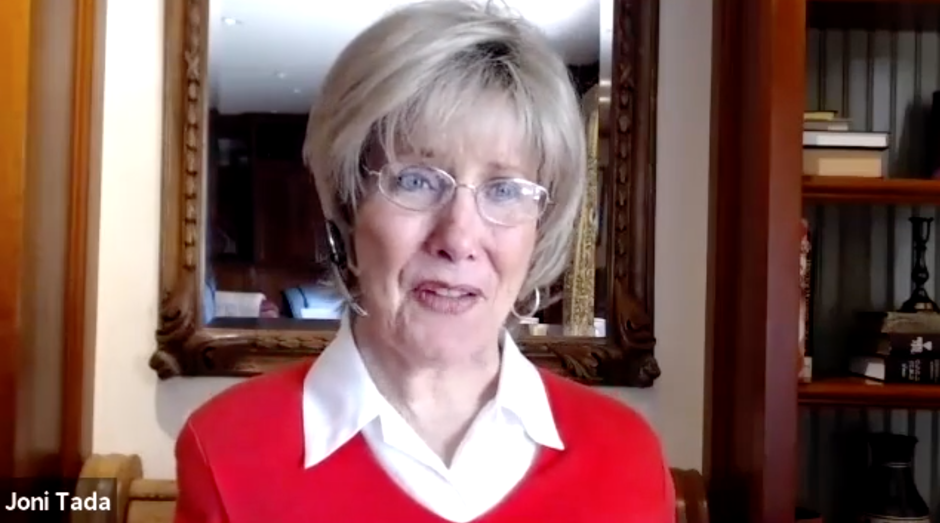 Q&A with Joni Eareckson Tada